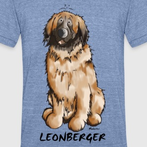 Leon the Leonberger T-Shirts - Unisex Tri-Blend T-Shirt by American Apparel