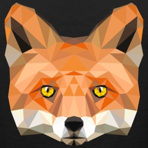 fox head low poly animal illustration art wilderne Sportswear - Men's Premium Tank