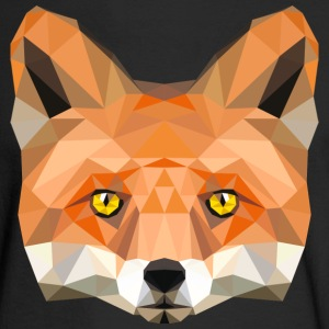 fox head low poly animal illustration art wilderne Long Sleeve Shirts - Men's Long Sleeve T-Shirt