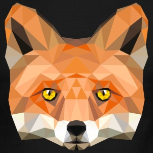 fox head low poly animal illustration art wilderne T-Shirts - Men's Ringer T-Shirt