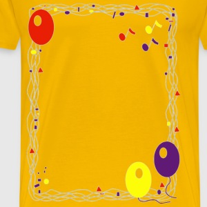 Balloon Border - Men's Premium T-Shirt