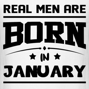 MEN JANUARY .png T-Shirts - Men's T-Shirt