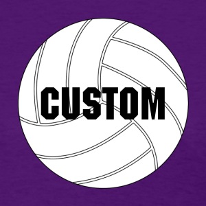 Custom White Volleyball Women's T-shirt - Women's T-Shirt