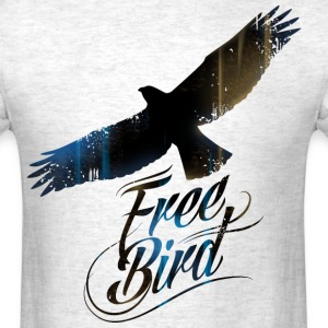 Free bird for men - Men's T-Shirt