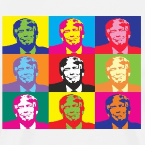 Donald Trump Warhol - Men's Premium T-Shirt