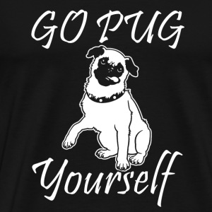 Go Pug Yourself T-Shirts - Men's Premium T-Shirt