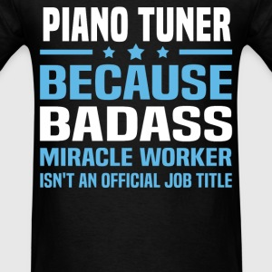 Piano Tuner Tshirt - Men's T-Shirt