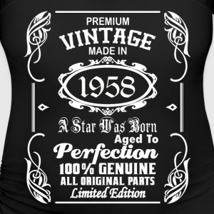Vintage made in 1958 T-Shirts - Women's Maternity T-Shirt