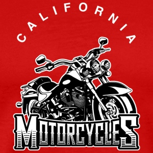 California Motorcycles - Men's Premium T-Shirt