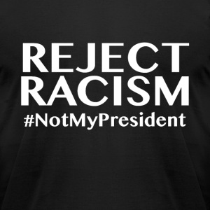 Resist and Reject - Men's T-Shirt by American Apparel