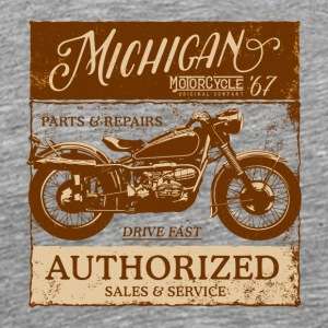 Michigan Motorcycle Sales & Service - Men's Premium T-Shirt
