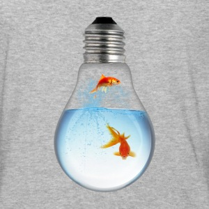 LightBulb Gold Fish M T-Shirts - Baseball T-Shirt