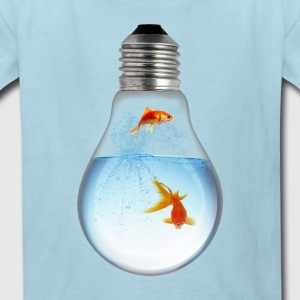 LightBulb Gold Fish M Kids' Shirts - Kids' T-Shirt