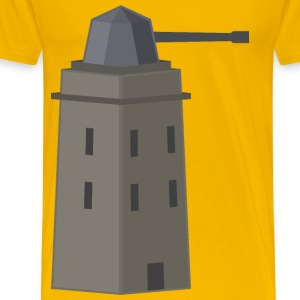 antiair tower or turret - Men's Premium T-Shirt