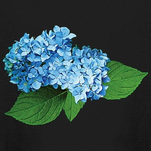 Light Blue Hydrangea Kids' Shirts - Kids' Long Sleeve T-Shirt