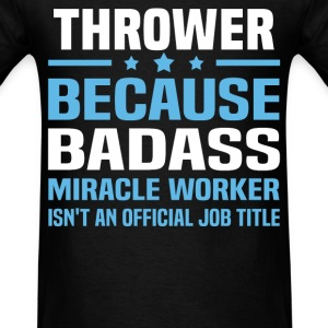 Thrower Tshirt - Men's T-Shirt
