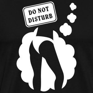 Women do not interfere rump dream Shirt - Men's Premium T-Shirt