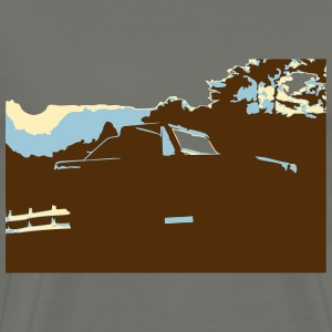 Bronco Sunset II T-Shirts - Men's Premium T-Shirt