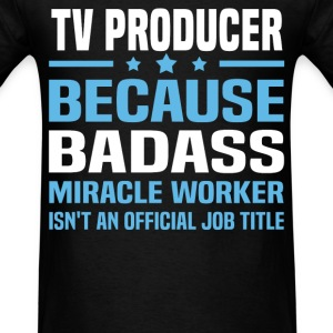 TV Producer Tshirt - Men's T-Shirt