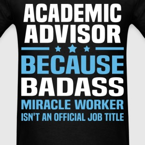 Academic Advisor Tshirt - Men's T-Shirt