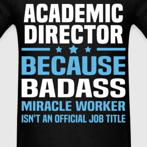 Academic Director Tshirt - Men's T-Shirt
