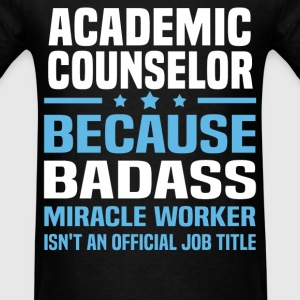 Academic Counselor Tshirt - Men's T-Shirt