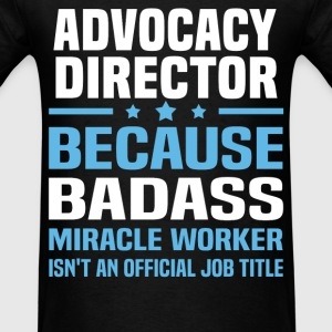 Advocacy Director Tshirt - Men's T-Shirt