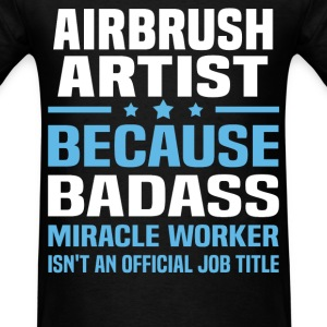 Airbrush Artist Tshirt - Men's T-Shirt