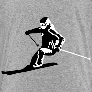 Skiing, skier, ski Baby & Toddler Shirts - Toddler Premium T-Shirt