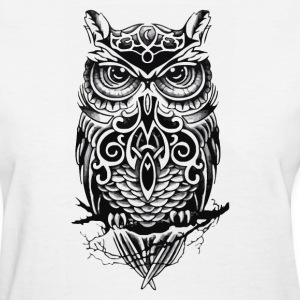 owl black - Women's T-Shirt