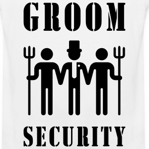 Groom Security (Bachelor Party / Stag Night) Sportswear - Men's Premium Tank