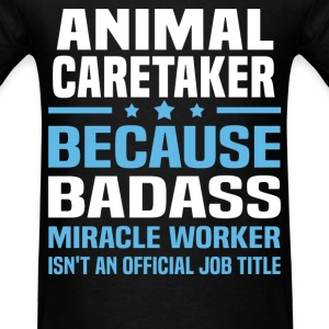 Animal Caretaker Tshirt - Men's T-Shirt