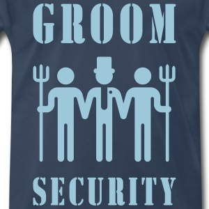 Groom Security (Bachelor Party / Stag Night) T-Shirts - Men's Premium T-Shirt