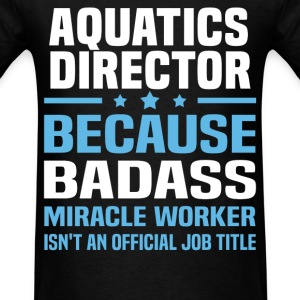 Aquatics Director Tshirt - Men's T-Shirt