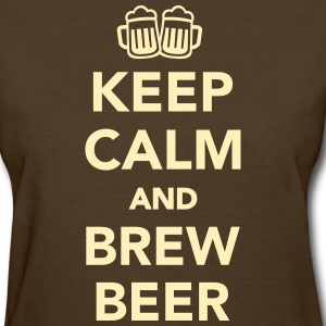 Keep calm and brew beer T-Shirts - Women's T-Shirt