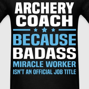 Archery Coach Tshirt - Men's T-Shirt