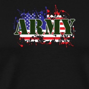 ARMY & FLAG - Men's Premium T-Shirt