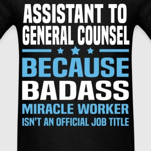 Assistant to General Counsel Tshirt - Men's T-Shirt