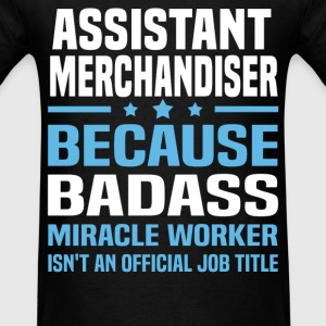 Assistant Merchandiser Tshirt - Men's T-Shirt