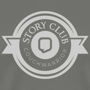 CouchWarrior Story Club T-Shirts - Men's Premium T-Shirt