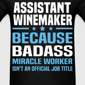 Assistant Winemaker Tshirt - Men's T-Shirt