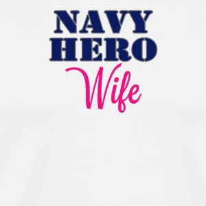 Navy Wife - Men's Premium T-Shirt
