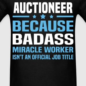 Auctioneer Tshirt - Men's T-Shirt