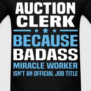 Auction Clerk Tshirt - Men's T-Shirt