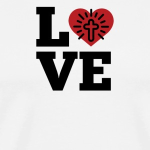 Love God - Men's Premium T-Shirt