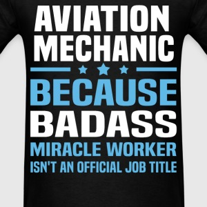 Aviation Mechanic Tshirt - Men's T-Shirt