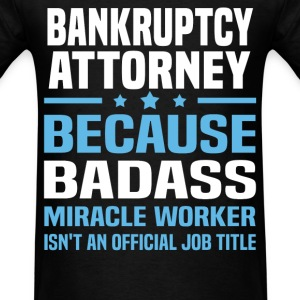 Bankruptcy Attorney Tshirt - Men's T-Shirt