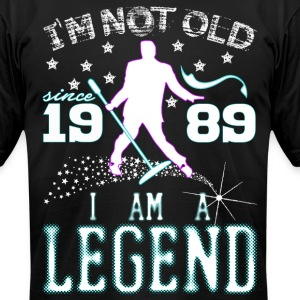 I AM A LEGEND-1989 T-Shirts - Men's T-Shirt by American Apparel