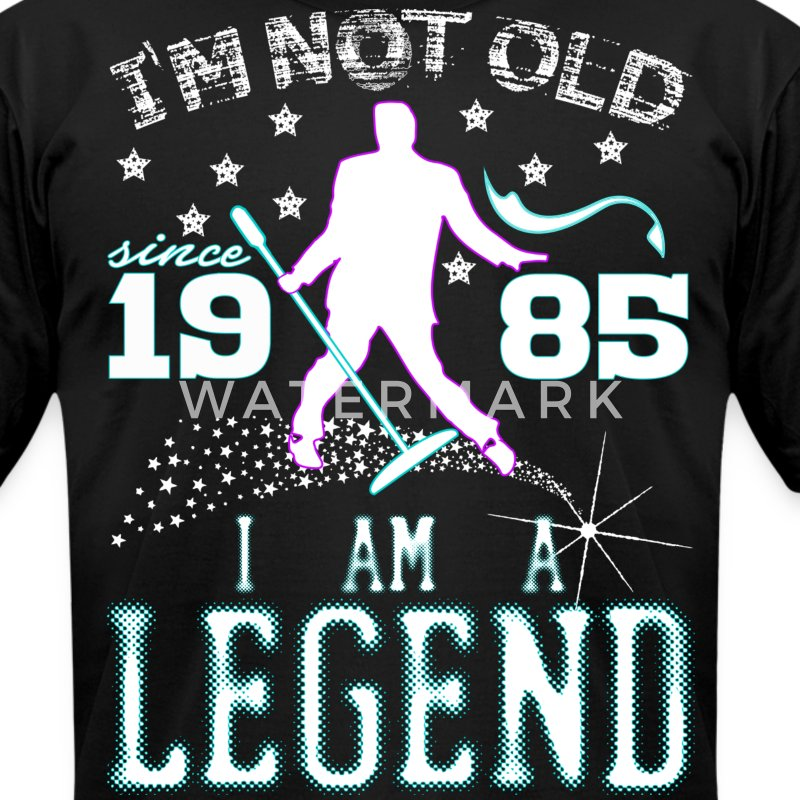 I AM A LEGEND-1985 T-Shirts - Men's T-Shirt by American Apparel