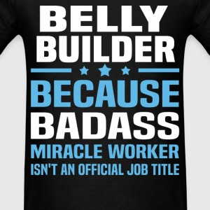 Belly Builder Tshirt - Men's T-Shirt